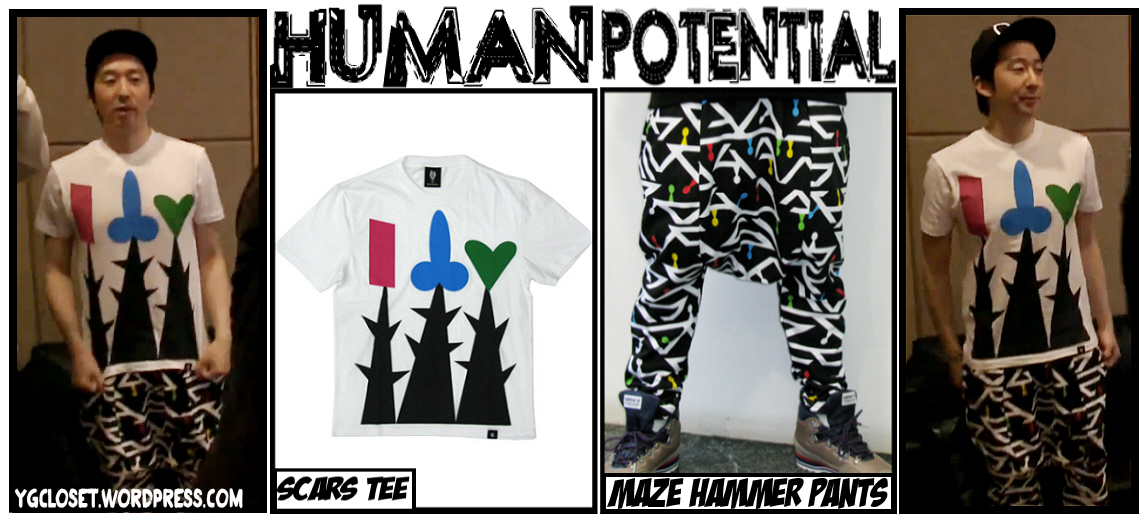 ec9eae195dcd  3 Choice37 wearing Human Potential s Scars Tee (₩33