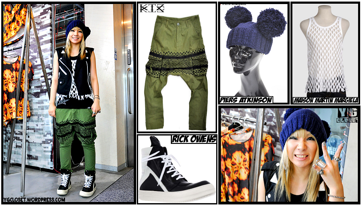 "f8b4aba78916 CL-roo dropped by Candy wearing KTZ s ""Geenie"" Kahki pants ( 47"